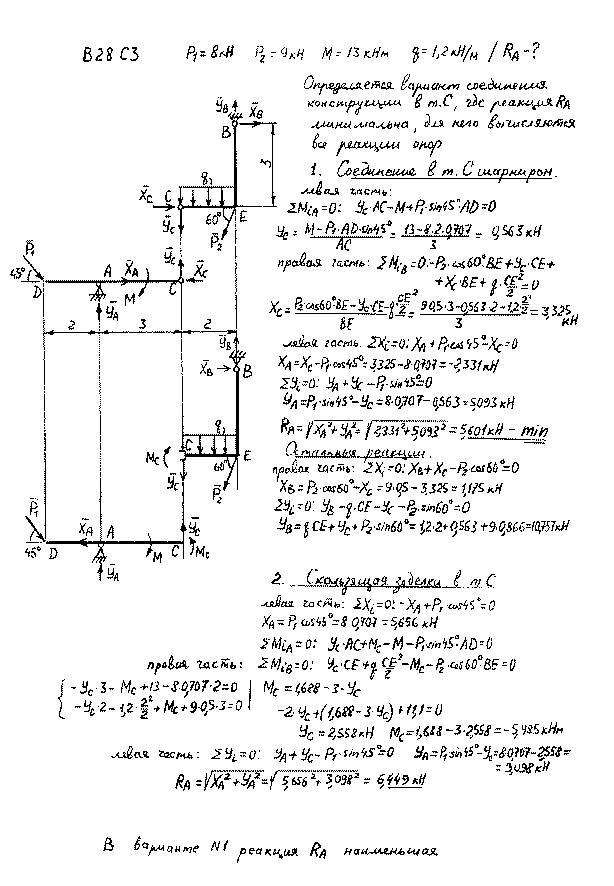 Статика решение задач примеры 10 класс